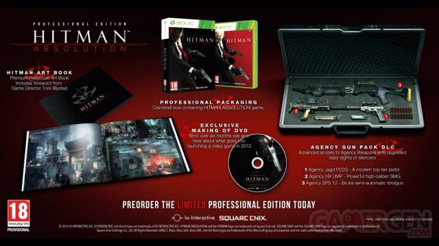 Hitman Absolution collector