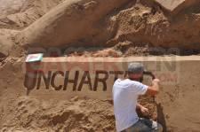 IDEF 2011 Uncharted 3 sculpture en sable 0002