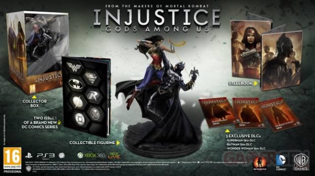 Injustice Ždition collector