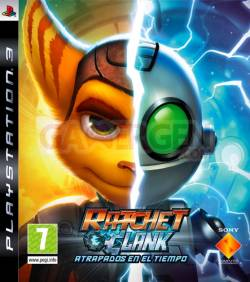 jaquette edition speciale ratchet clank crack time insomniac games