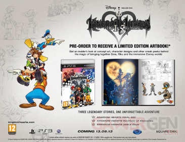 Kingdom Hearts HD 1.5 ReMIX bonus précommande