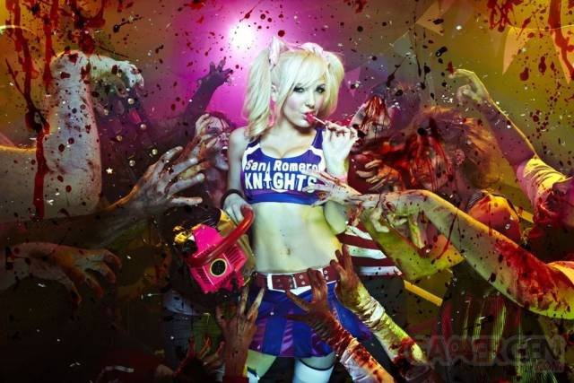 Lollipop Chainsaw mannequins 007