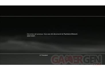 Maintenance-PSN-Deconnexion