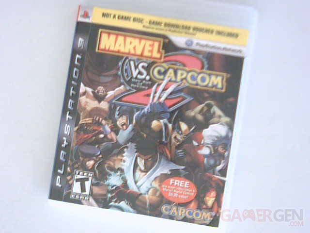 marvel vs capcom 2 boite