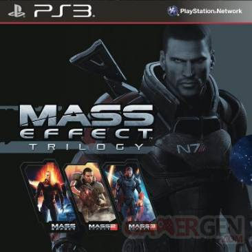 mass effect trilogy jaquette ps3