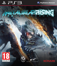 Metal Gear Rising Revengeance jaquette vover 18.02.2013.