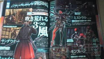 Metal Gear Rising Revengeance scan famitsu
