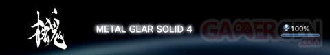 Metal Gear Solid 4 - Trophées FULL    1