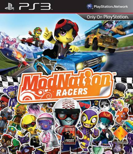modnation racers jaquette cover