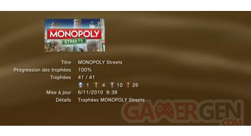 Monopoly streets trophees LISTE PS3 PS3GEN 01