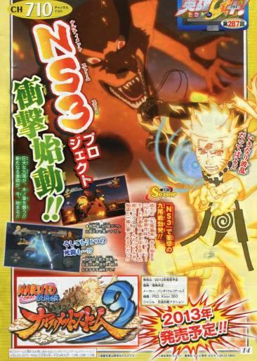 Naruto Shippuden Ultimate Ninja Storm 3 scan 25.06.2012