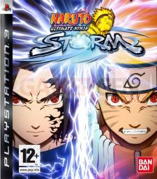 Naruto Shippuden Ultimate Ninja Storm test couverture