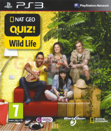 Nat Geo Quizz wild Life front cover jaquette