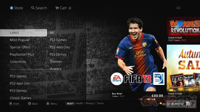 New PlayStation Store 2012 002
