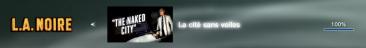 L.A. Noire DLC la cité sans voile Trophees FULL 1