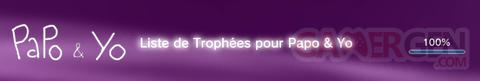 Papo & Yo - Trophées - FULL -  1