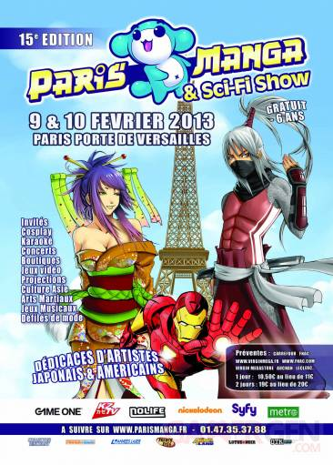 Paris manga votre sortie gaming du week end gamergen com for Salon a paris ce weekend
