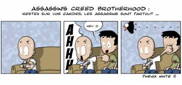 Phenixwhite Assassin's Creed Brotherhood Actu en dessin 14-06-10-20-06-10