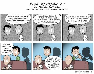 Phenixwhite Final Fantasy XIV Actu en dessin 28-06-10-04-07-10