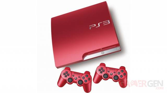 PlayStation 3 rouge