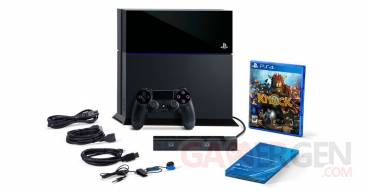 PlayStation 4 Bundle Knack PlayStation Camera