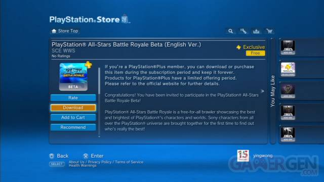 PlayStation All-Stars Battle Royale bêta