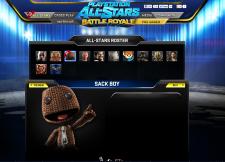 PlayStation All-Stars Battle Royale leaks Sackboy