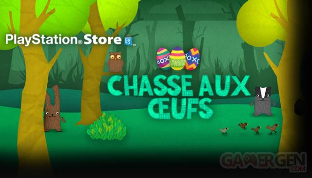 PlayStation Store chasse aux oeufs offre soldes 27.03.2013.