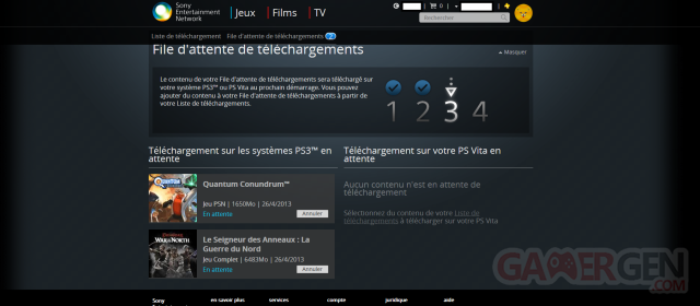 PlayStation Store portail web