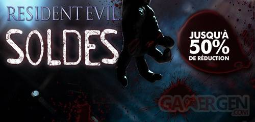 Playstation store soldes resident evil