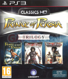 prince of persia trilogy 3D cover front