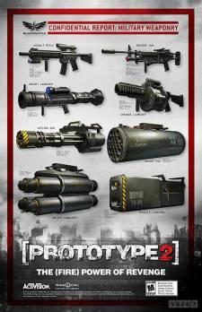Prototype 2 armes