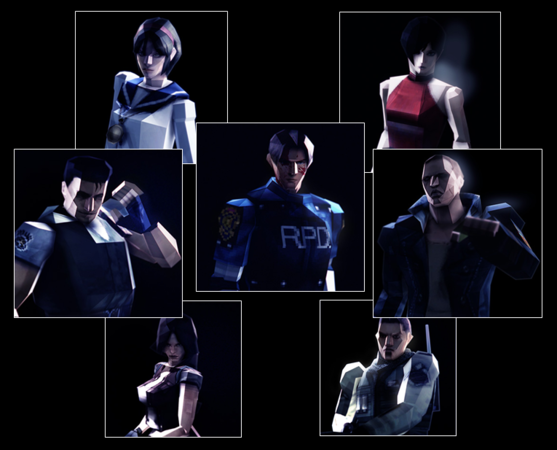 Resident Evil 6 costumes rétro images screenshots 0002