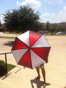 Resident Evil 6 parapluie 2