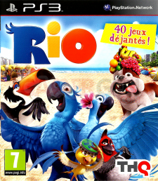 RIO jaquette front cover