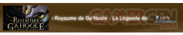Le royaume de gahoole  trophees FULL PS3 PS3GEN 01