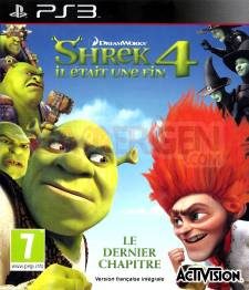 SHREK 4 Il était une fin jaquette front cover