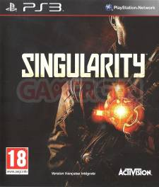 singularity jaquette front cover