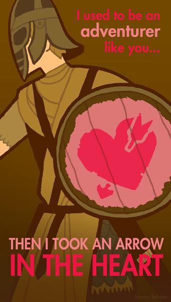 Skyrim Saint-Valentin