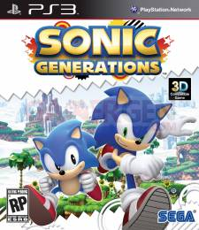 Sonic Generations covers ps3