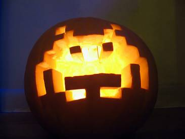 Space Invaders Halloween