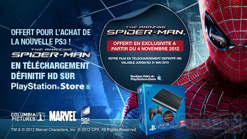Spiderman ps3 console offre 23.10.2012.