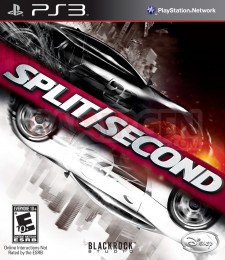 Split Second Velocity cover pochette PS3