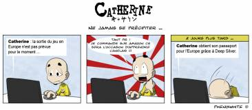 Strip catherine en europe copie