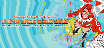Tokyo game Show TGS 2012 banniere 21.09.2012