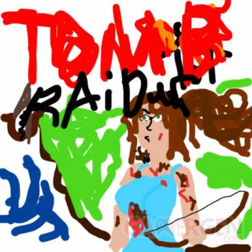 Tomb Raider fausse jaquette