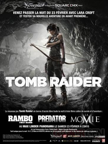 Tomb Raider Nuit au Max