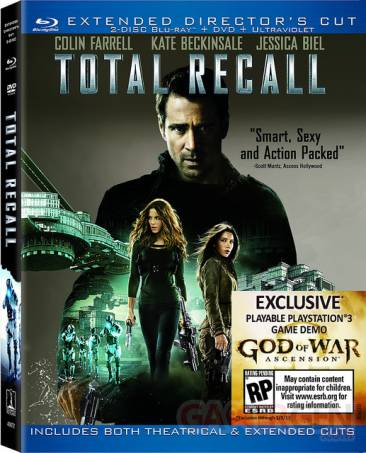 Total Recall blu-ray God of War