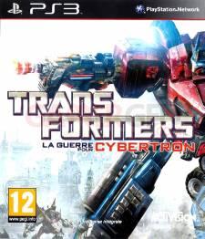 Transformers la guerre pour cybertron jaquette front cover