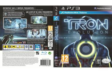 TRON jaquette full cover